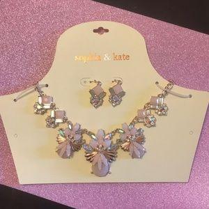3/$20 NWT Sophia & Kate Chunky Necklace w Earrings